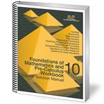 Foundations of Mathematics and Pre-Calculus 10 Book Teacher Solution (NS)