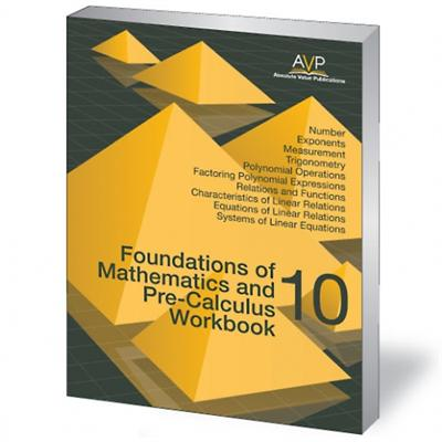 Foundations Of Mathematics And Pre Calculus 10 Book Bc